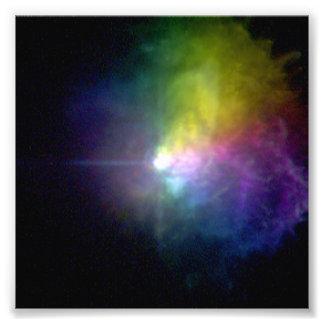 Canis supergigante Majoris de la estrella VY Impresiones Fotográficas