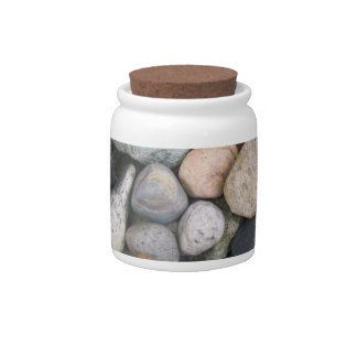 Canister - Rocks. © Roseanne Pears 2012. Candy Dishes