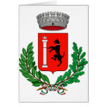 Canistro Stemma, Italy Greeting Card