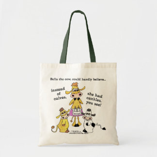 Cankles Not Calves Tote Bag