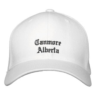 Canmore Alberta Hat Embroidered Hat