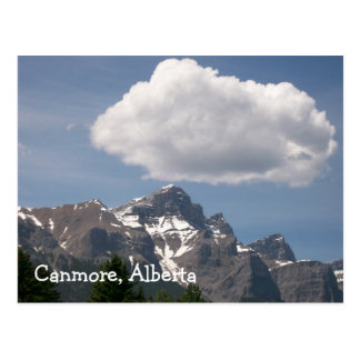 Canmore, Alberta Post Card