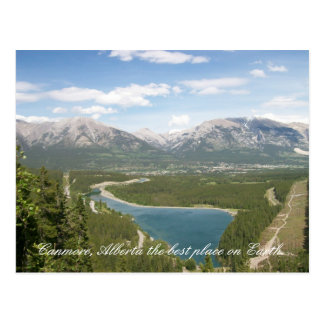 Canmore, Alberta the best place on Ea... Post Cards