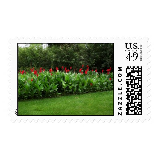 CANNA GARDENS ~ TROPICAL TWIST TO THE NORTHWOODS! POSTAGE STAMPS