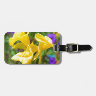 Canna Lilly Tag For Bags