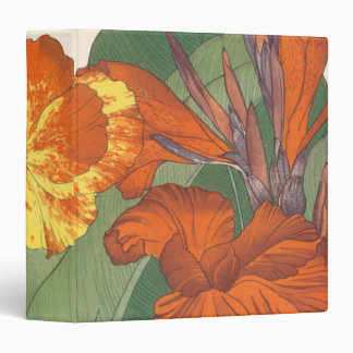 Canna Lily 3 Ring Binder