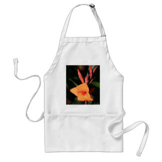 Canna Lily Flower apron