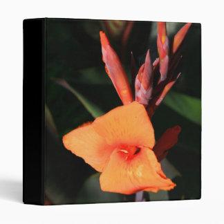 Canna Lily Flower binder