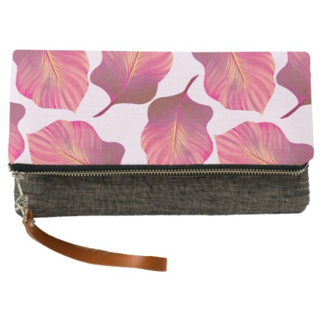 Canna Tropicanna Leaves in Pink Clutch