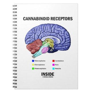 Cannabinoid Receptors Inside (Brain Anatomy) Note Books