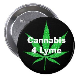 Cannabis 4 Lyme Button