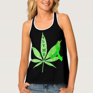 Cannabis 4 Lyme Disease Womens Shirt