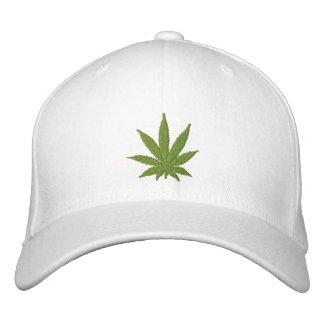 Cannabis Leaf Hat Embroidered Baseball Cap