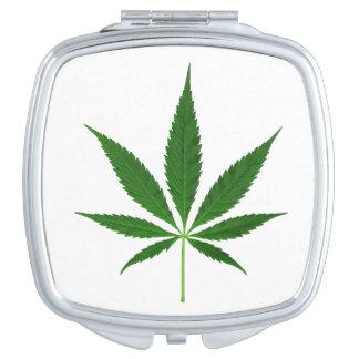 CANNABIS REX (marijuana leaf design) ~ Vanity Mirror