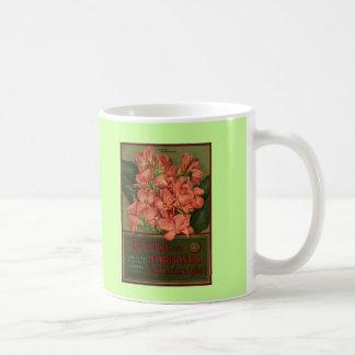 Cannas - seed catalog coffee mugs
