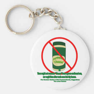 Canned Cheese Keychain