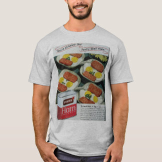 Canned Ham Vintage Advertisement T-Shirt