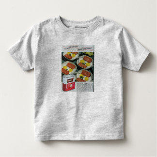 Canned Ham Vintage Advertisement Toddler T-shirt