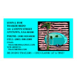 CANNED HAM VINTAGE TRAVEL TRAILERS BUSINESS CARDS!