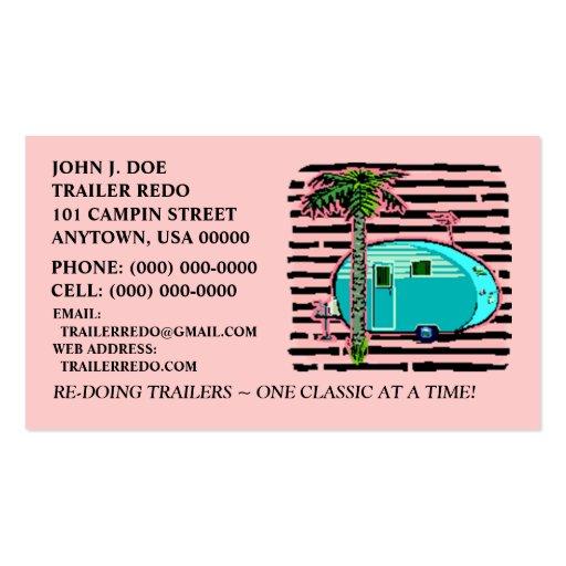 Rv rental business card templates bizcardstudio canned ham vintage travel trailers business cards colourmoves