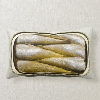 Canned Sardines Lumbar Pillow