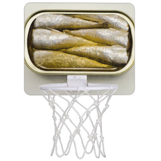 Canned Sardines Mini Basketball Backboard