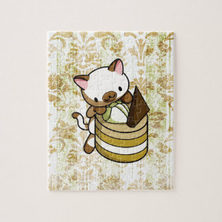 Cannelle Apple Kitty Puzzle