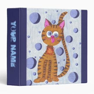 Cannelle la carpeta personalizada gato de la