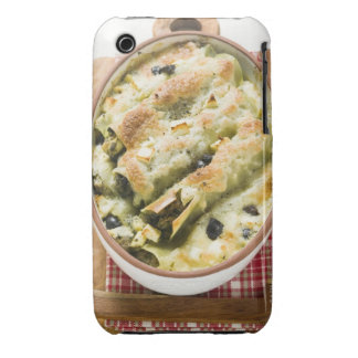 Cannelloni with spinach & sheep's cheese filling iPhone 3 Case-Mate case
