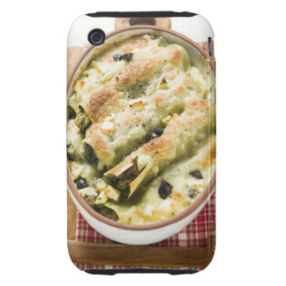 Cannelloni with spinach & sheep's cheese filling iPhone 3 tough case