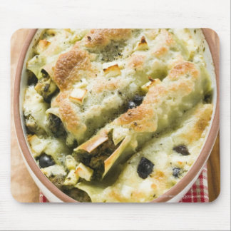 Cannelloni with spinach & sheep's cheese filling mouse pad