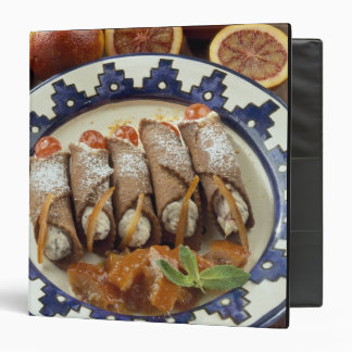Canneloni di ricotta - Sicily - Italy For use Binder
