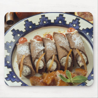 Canneloni di ricotta - Sicily - Italy For use Mouse Pad