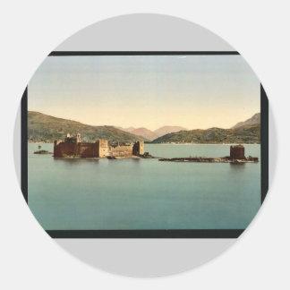 Cannero Castle, Maggiore, Lake of, Italy vintage P Sticker