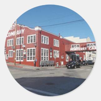 Cannery Row Classic Round Sticker