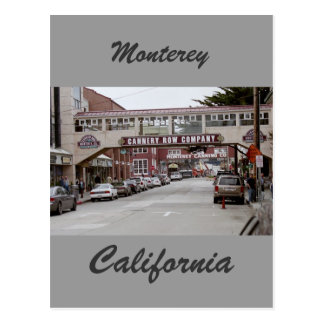 Cannery row postcard