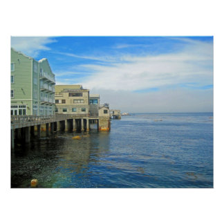 Cannery Row Waterfront South Posters