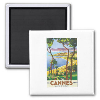 Cannes 2 Inch Square Magnet