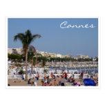 cannes coastline postcards