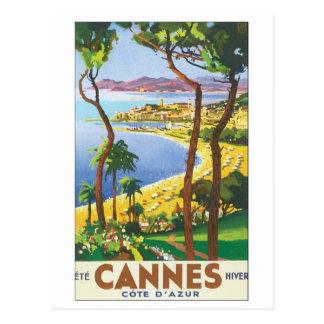 Cannes Cote D' Azur Post Card