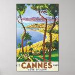Cannes Cote D' Azur Poster