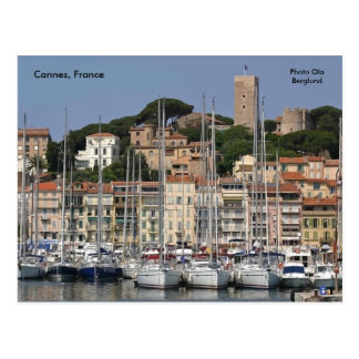 Cannes, France, Photo Ola Berglund Postcard