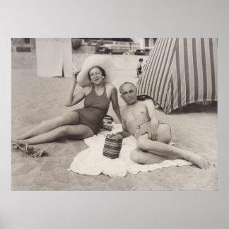 Cannes, Francia en 1930 s Impresiones