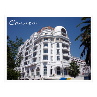 cannes hotel postcard