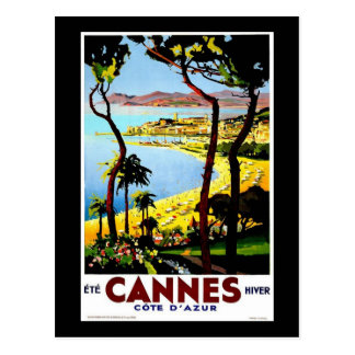 Cannes Post Card