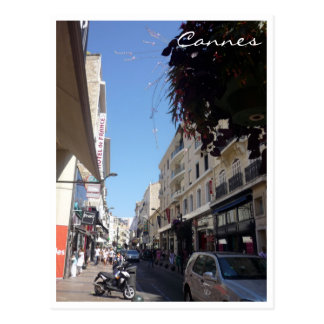 cannes rue postcard