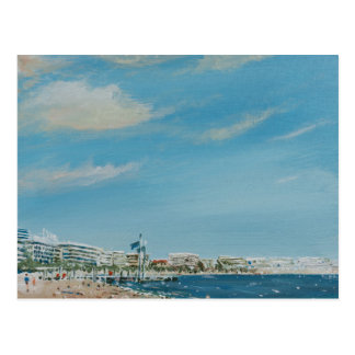 Cannes Sea Front 2014 Postcard