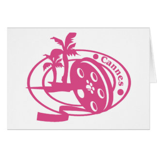 Cannes Stamp Greeting Card