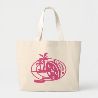Cannes Stamp Tote Bag