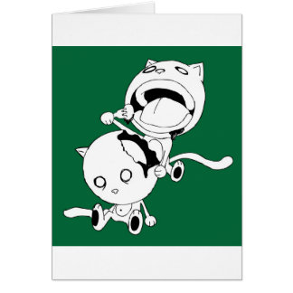 Cannibal Cat Green Card